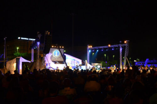 Il Faro 2012 palco e pubblico
