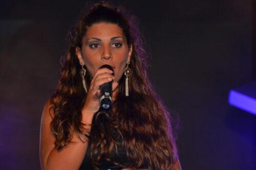 Meissa durante un'esibizione al premio Il Faro 2010