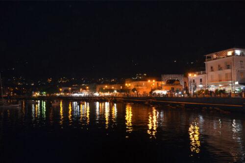 Porto di Vibo Marina di sera