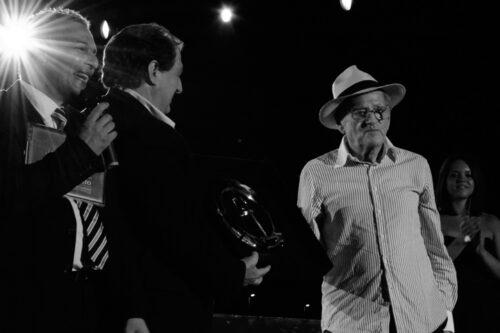 Durante la Premiazione di Teddy Reno al Premio Il faro 2012